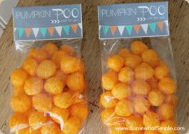Pumpkin Poo Bags - Easy Halloween Treat Recipe