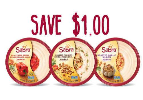 Sabra Hummas Coupon to save a $1.00 off