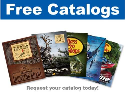 Bass Pro Shop Catalogue for FREE