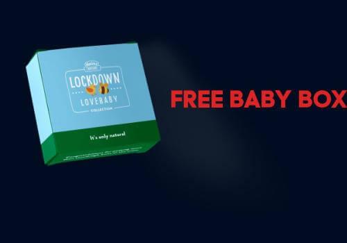 Heinz Free Baby Box Quarentine baby