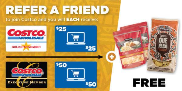 Costco Refer a Friend