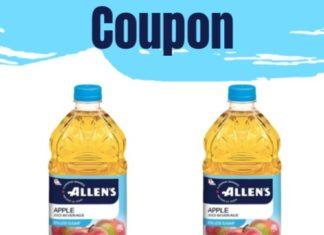 Allens Juice Coupon Canada
