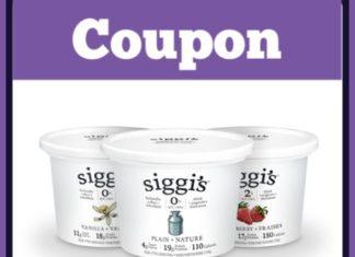 Siggis yogurt coupon for Canada