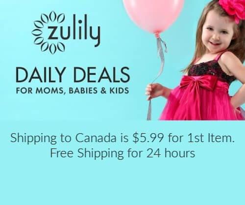 Zulily Canada online shopping
