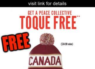 219ffad194e Dempsters Promo  Get a FREE Peace Collective Toque