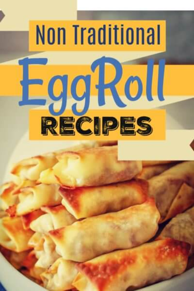 homemade eggroll recipes to try!