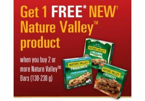 Natures Valley Coupon – Buy 2, Get 1 FREE Granola Bars