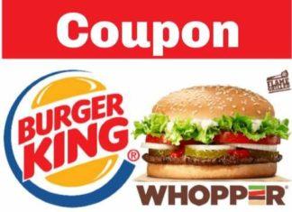 Burger King Coupon Canada