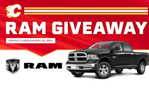 NHL Contest – WIN a RAM 1500 SLT Crew Cab truck