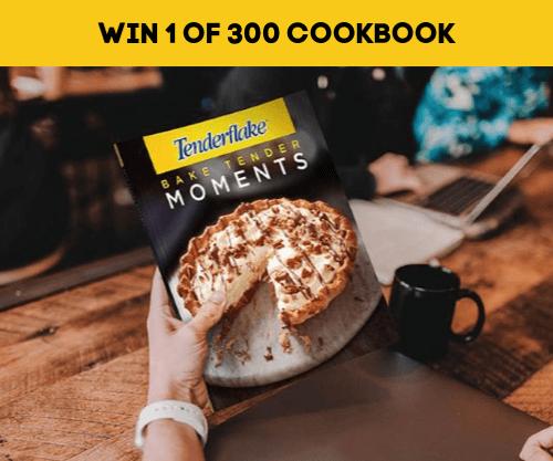 Tenderflake Contest: Win 1 of 300 Tenderflake Cookbooks