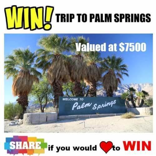 Calvin Klein Contest: Win Trip To Palm Springs, California