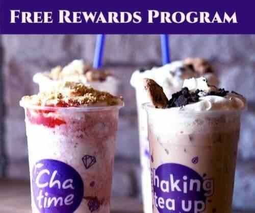 Chatime Rewards program