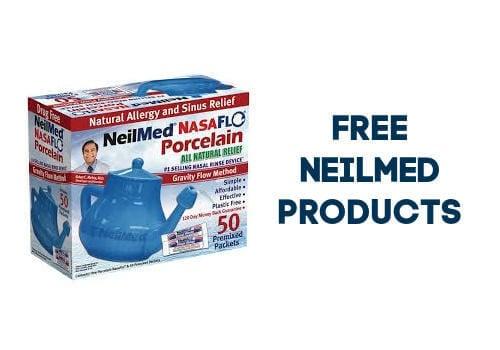 Neil Med Free Sample of Neti pot