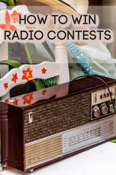 , How to Win Radio Contests
