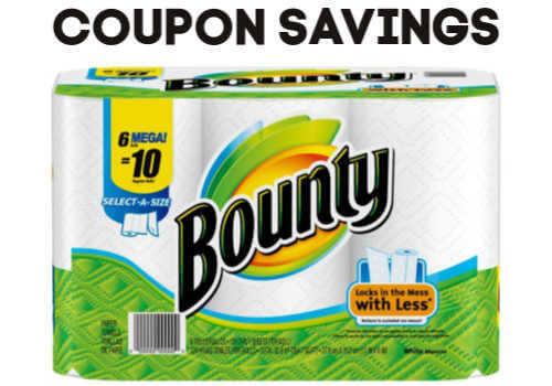Bounty Paper Towels Canada