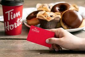 Tim Hortons Rewards Program for coffee