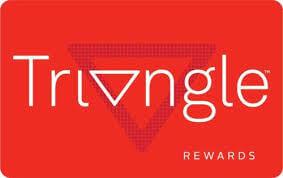 Triangle Rewards Card