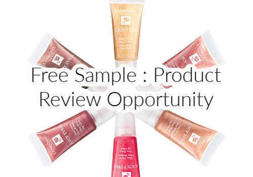 Free Lipgloss sample