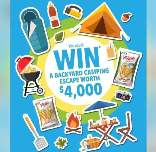 Sensible Portions Contest – Win a Backyard Camping Escape