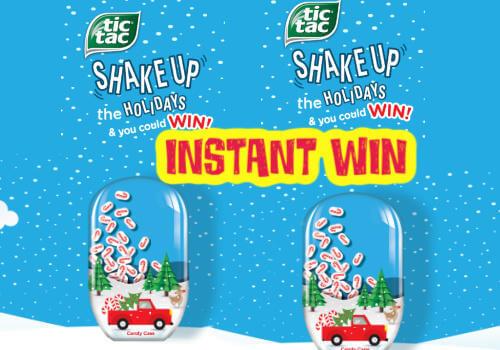 Tic Tac Instant Win Contest