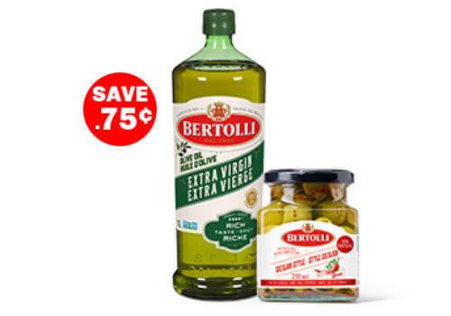 Bertolli Coupon – Save on Bertolli Olive Oil