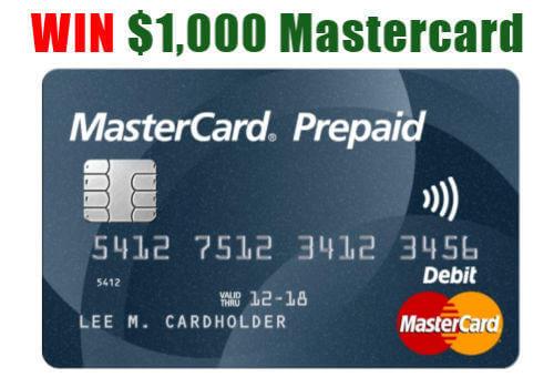 mastercard contest