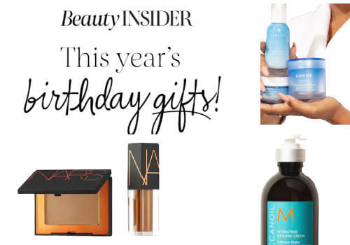 Sephora Birthday gifts 2021