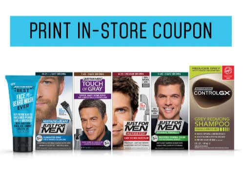Just for Men Coupon – Printable Savings