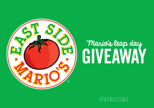 East Side Mario's Contest – WIN a 1 of 29 East Side Mario's Gift Cards