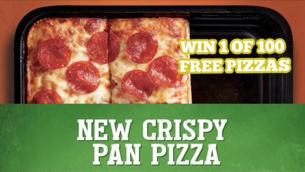 Delissio Contest – INSTANTLY WIN Delissio Crispy Pan Pizza (100 Winners)