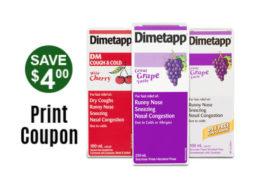 , Dimetapp Canada Coupon – Save $4 off with Printable Savings