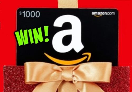 Amazon Contest : Win a $1000 AMAZON GIFT CARD