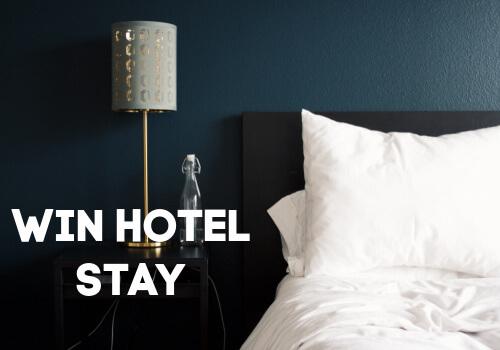 Huskey Contest win Hotel Stay