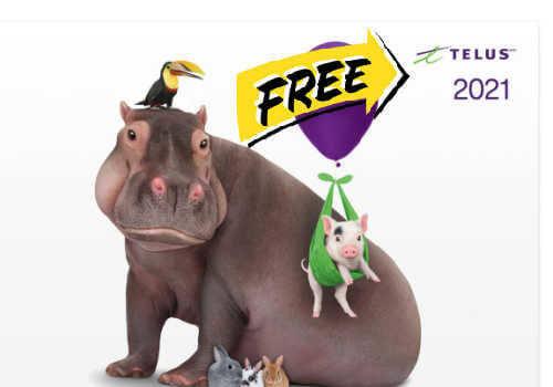 Free Telus Calendar 2021