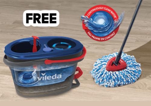 Vileda Free Sample of Vileda EasyWring RinseClean System -Go!