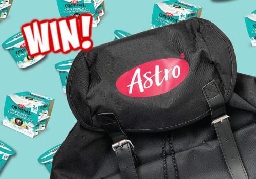 Astro Canada Contest – WIN FREE Astro Yogurt