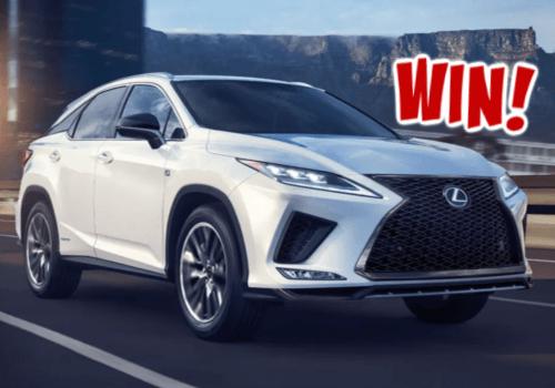 Lexus Canada Contest ~ WIN a New 2021 Car