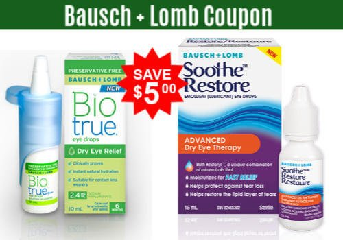 Bausch Lomb Canada Coupons: Save on Eye Drops, Ointments and more