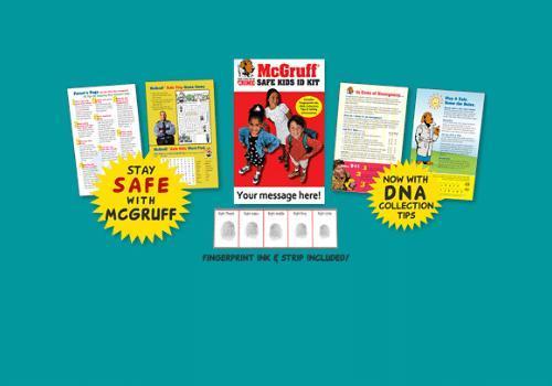 McGruff Kit for Kids Order FREE