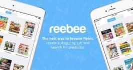 Reebee app for grocery savings in Canada