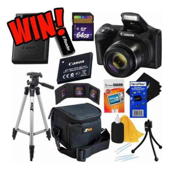 Canon Contest- WIN a Canon Powershot Accessory Kit