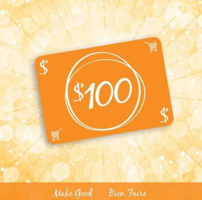 Make Good Contest, Make Good Contest – WIN  $100 eGift card