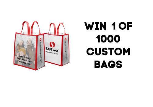 Safeway Canada Win 1 of 1000 Custom Holiday Shopping Bags