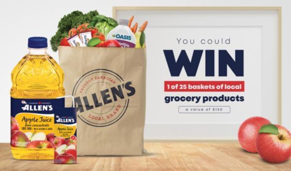 Allen's Canada Contest: Win a Winter Fun Prize Pack
