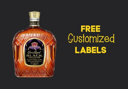 Crown Royal Bottle Label - Free Personalized Labels