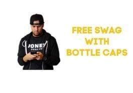 Jones FREE Swag with bottle caps