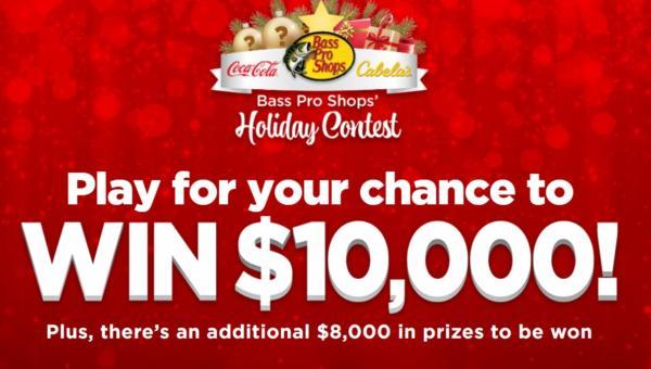 Bass Pro Shops Contest: WIN $10,000 CASH!