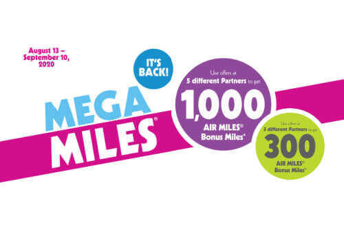 Airmiles Point Promotion