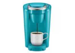 Keurig Canada coffee pot turquoise
