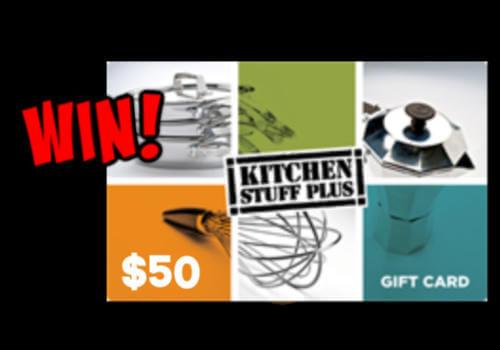 Kitchen Stuff Plus Contest ~ Win a $50 Gift Card